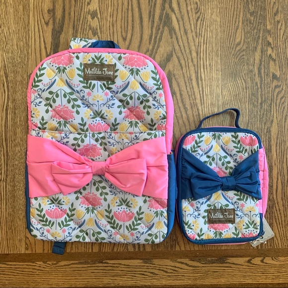Matilda Jane Other - Matilda Jane Backpack with matching lunchbox